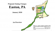 Easton Zoning Changes Presentation