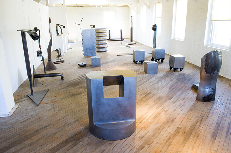 Karl Stirner's Studio in Easton