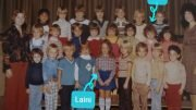 Laini Abraham and Lia Triscari met in kindergarten at Palmer Elementary School, Easton PA. 1977